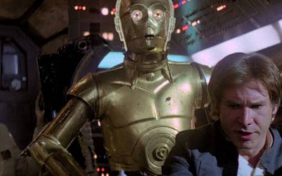 WHEN YOU THINK YOU'RE HAN SOLO BUT YOU'RE ACTUALLY C-3PO